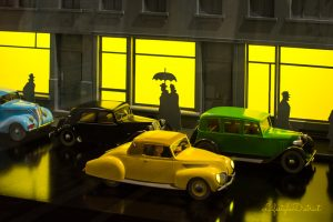 Tintin at Somerset House