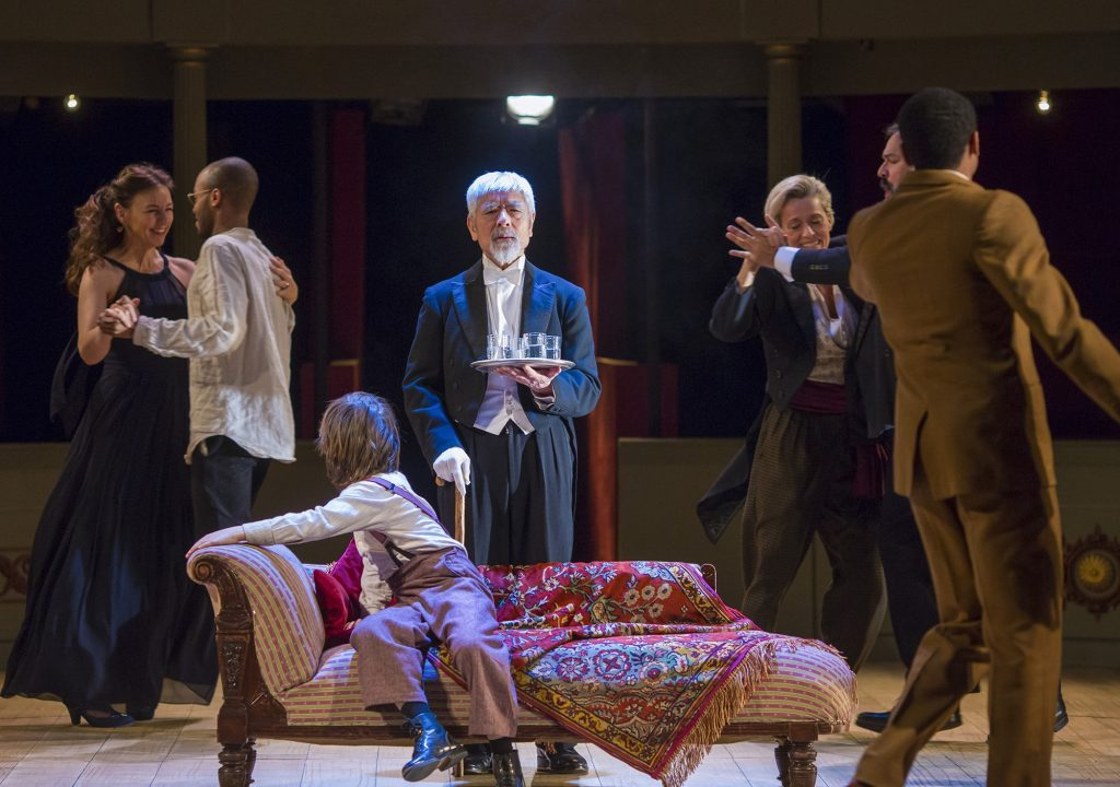 Checkhov's Cherry Orchard being performed at Bristol Old Vic