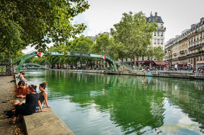 A walk along the Canal Saint Martin