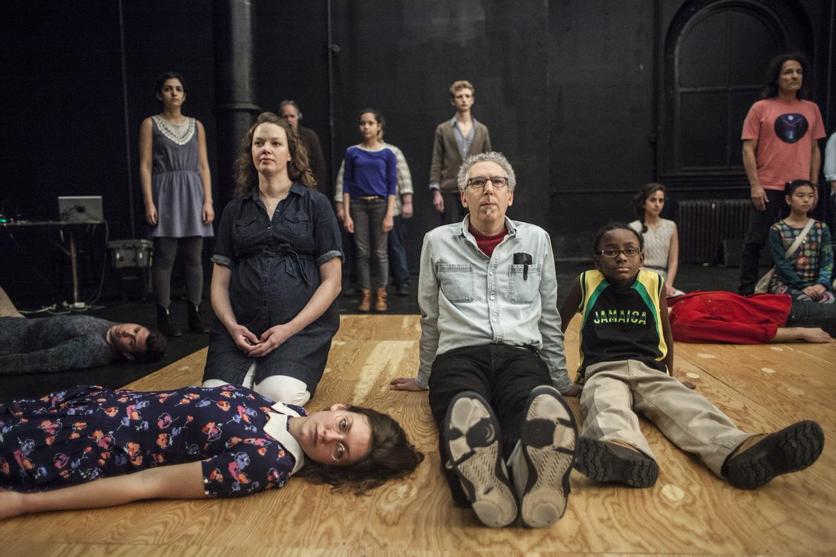 45 strangers meet on stage: Review of The Record at Bristol Old Vic