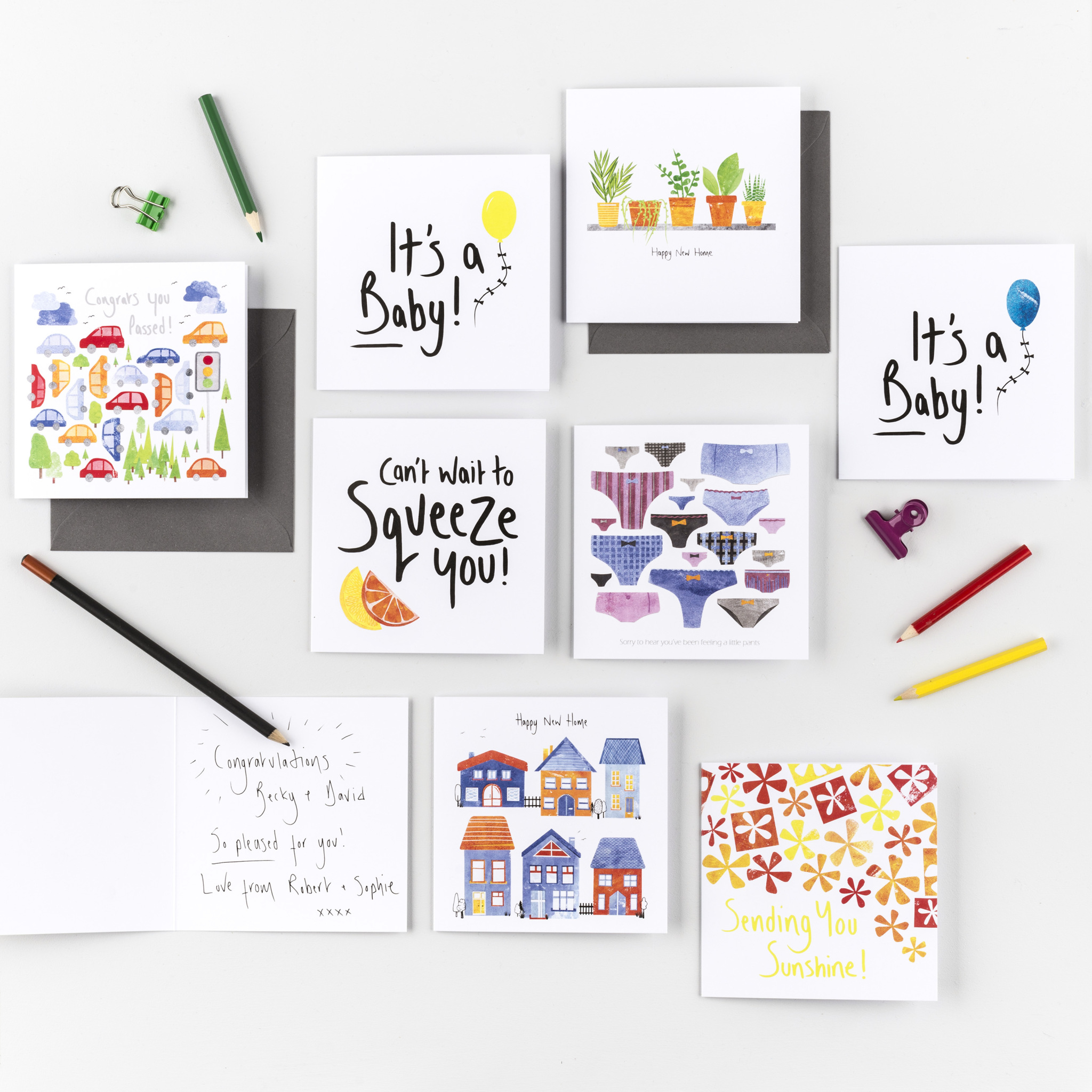 Mother's day present ideas by illustrator Fiona Clabon